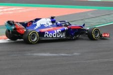 Toro Rosso completed the most laps of anyone in test one