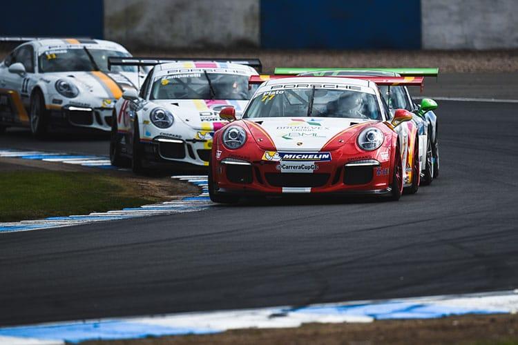 Jtr Confirm Plato And Orton For 2018 Porsche Carrera Cup Gb The Checkered Flag