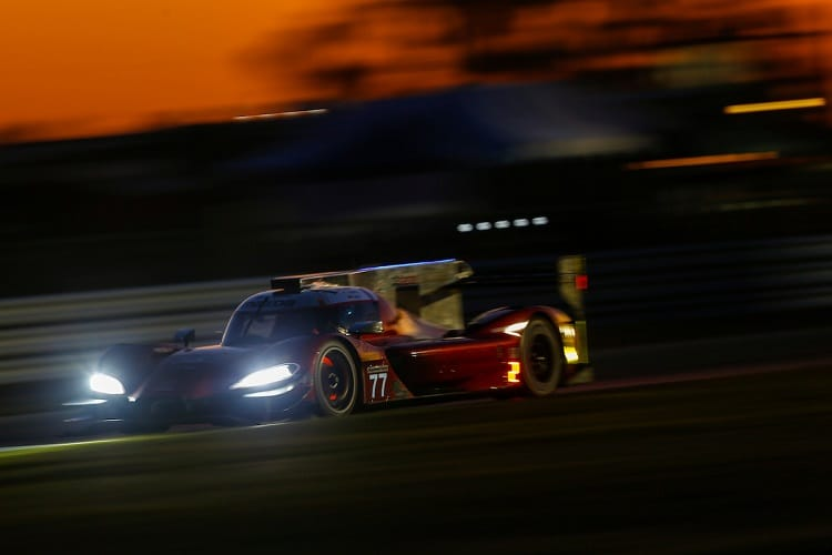 Rene Rast was quickest in night practice at Sebring
