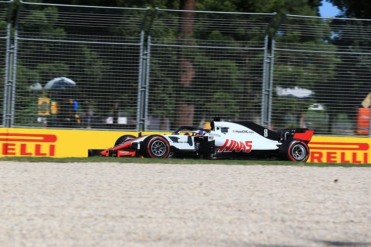 Haas shows class, then farce in Australia