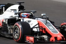 Romain Grosjean was the busiest driver on the final day of pre-season testing