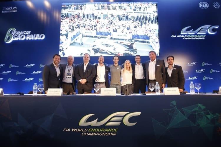 WEC Press Conference, Sao Paulo