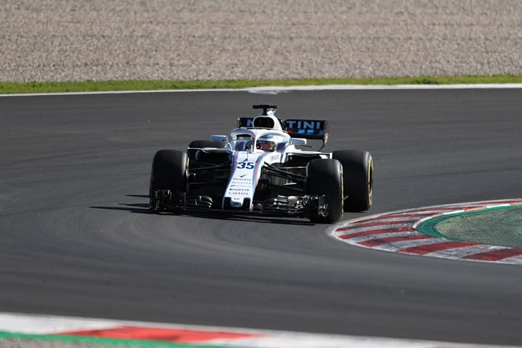Sergey Sirotkin completed his first race simulation on Wednesday