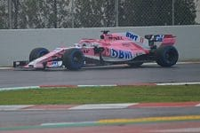 Force India got useful data despite difficult weather conditions