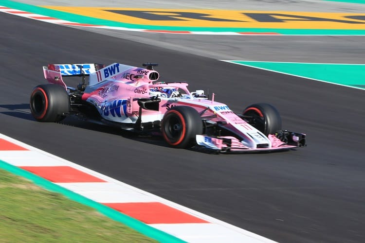 Sergio Perez completed ninety-three laps on Tuesday