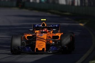 Stoffel Vandoorne ended both free practice sessions on Friday in tenth