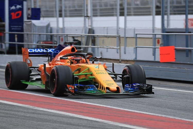 McLaren say they've fixed the issues that cost them track time during pre-season testing
