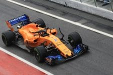 Stoffel Vandoorne was second fastest on Thursday