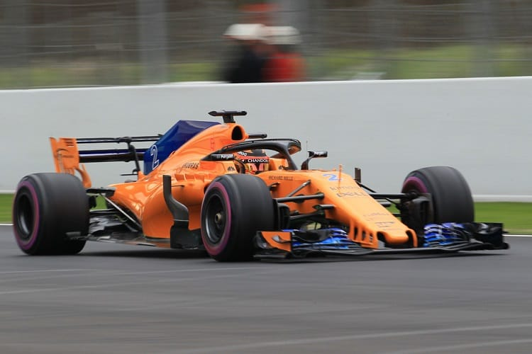 Stoffel Vandoorne completed 151 laps on Thursday