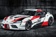 Toyota launched their new sportscar at the Geneva Motor Show today: the GR Supra Racing Concept