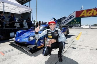 Tristan Vautier took pole position at Sebring