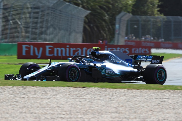Valtteri Bottas finished the race by only using the Ultrasoft and Supersoft compounds