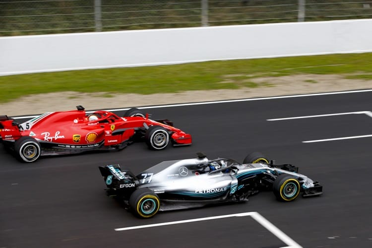 From 2018, drivers will line up on the grid to restart after a safety car period