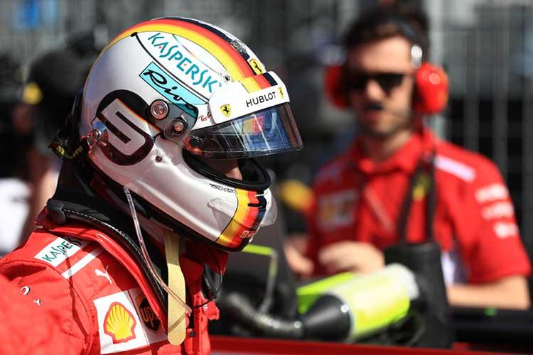 Sebastien Vettel - 2018 Australian Grand Prix