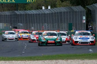 Dale Wood - Porsche Carrera Cup Australia - Melbourne - Race 3