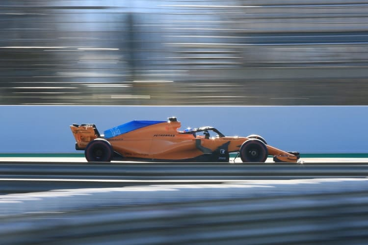 New motor doesn't end McLaren's woes in F1 preseason