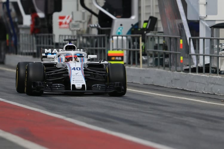 Kubica steps aside for Stroll on final day of testing