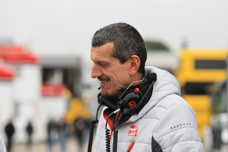Steiner at Winter Testing