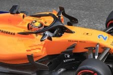 Vandoorne at Winter Testing