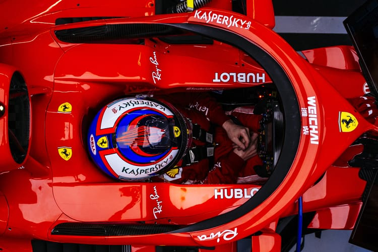 Ferrari says mechanic doing 'fine' after pit-stop injury