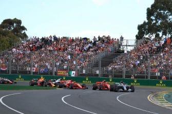The 2018 Australian Grand Prix gets underway