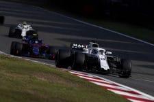 Williams Martini Racing in China