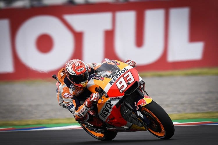 Crutchlow wins action-packed Argentine GP as Marquez breaks all the rules