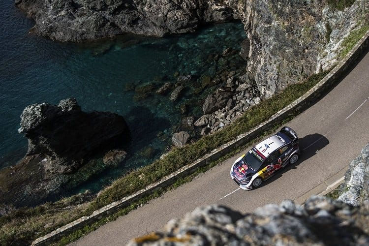 Kris Meeke finishes ninth in Corsica after crash