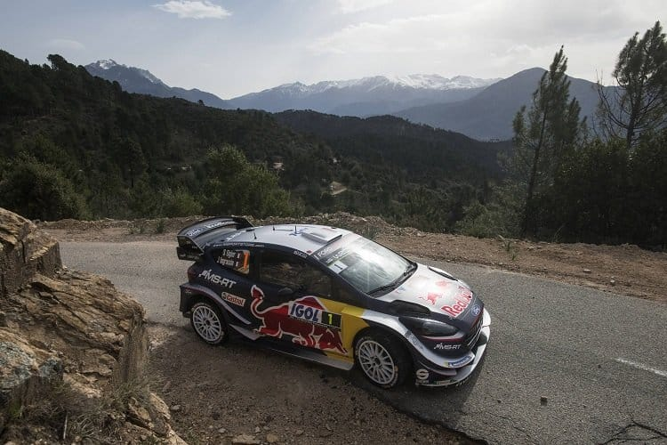 Ogier takes dominant victory in Corsica