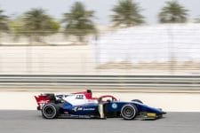 Arjun Maini topped practice in Bahrain