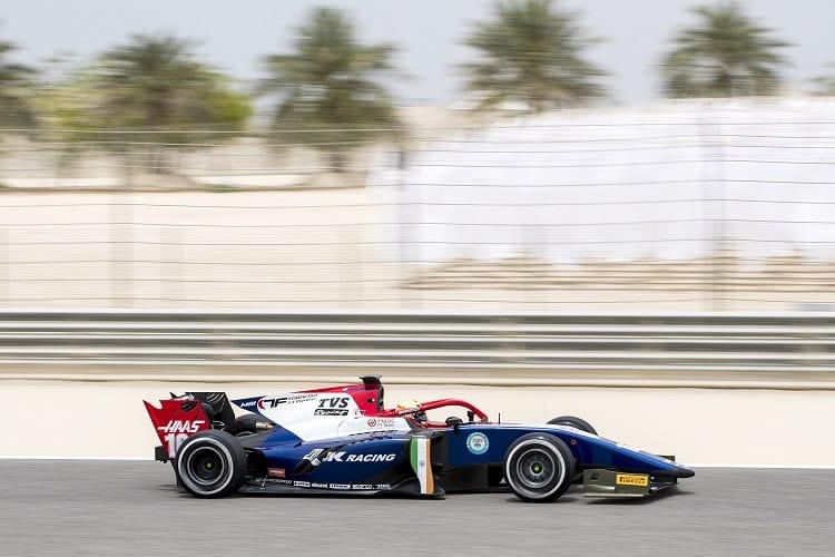 Arjun Maini topped practice in Bahrain