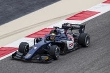 Artem Markelov proved his prowess in tyre management in Bahrain