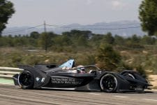 Bruno Spengler, BMW Formula E test, Calafat.