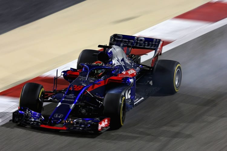 Brendon Hartley was penalised post-race