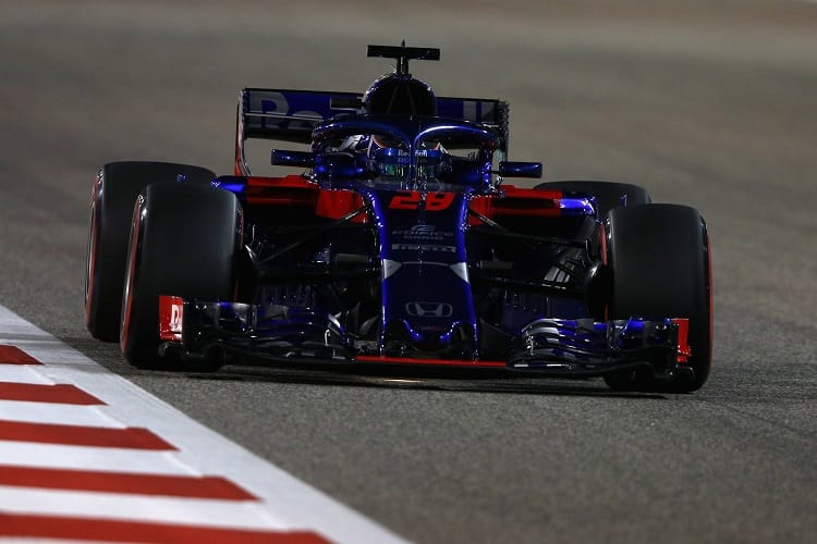 Brendon Hartley was twice penalised in Bahrain