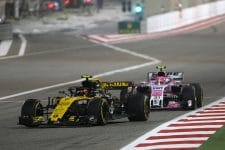 Carlos Sainz Jr. ultimately lost out on the final point to Esteban Ocon