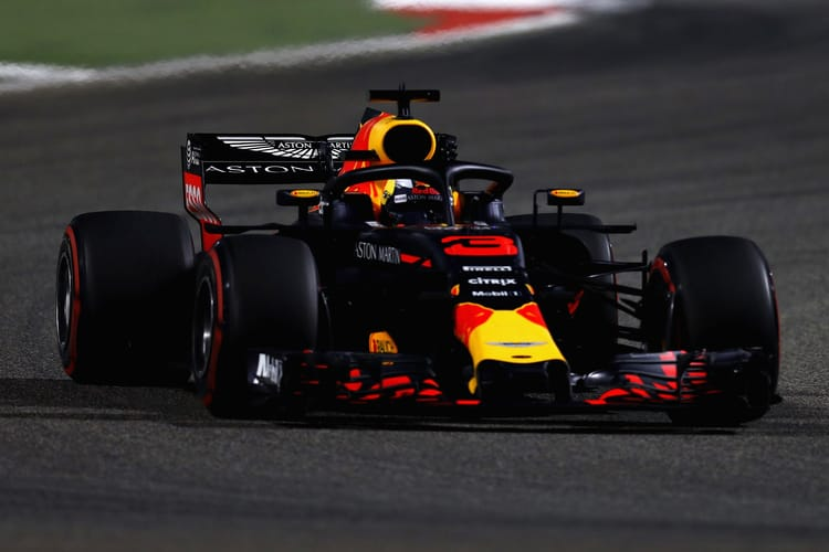 Red Bull F1 team's race ends early and badly in Bahrain