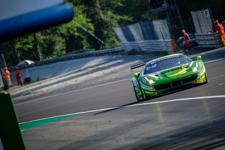 Rinat Salikhov/Dominik Schwager/Alexander Mattschull - Rinaldi Racing