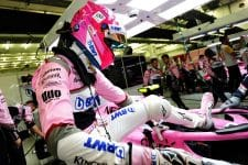 Esteban Ocon scored his first point of 2018 in Bahrain