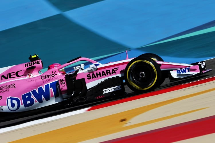Force India has only one point across the first two races
