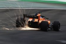 Fernando Alonso edged into the top ten in FP2