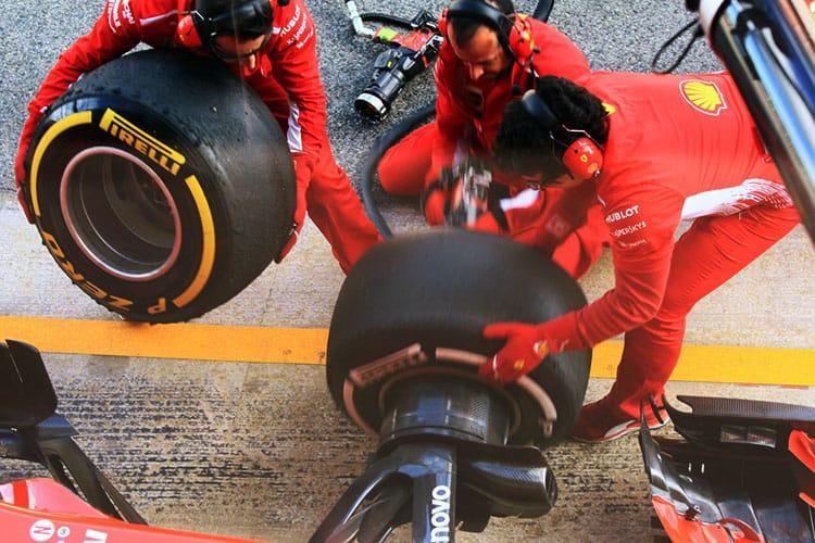 Scuderia Ferrari Pitstop Practice