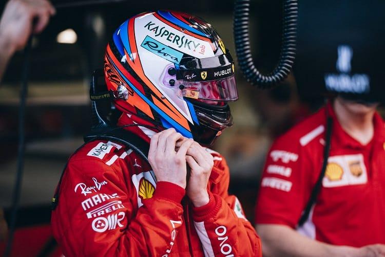 Kimi Raikkonen finished third in Australia