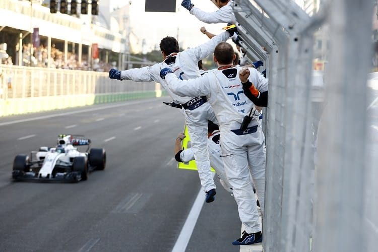 Story of the Azerbaijan Grand Prix: Red Bull calamity triggers Bottas heartbreak