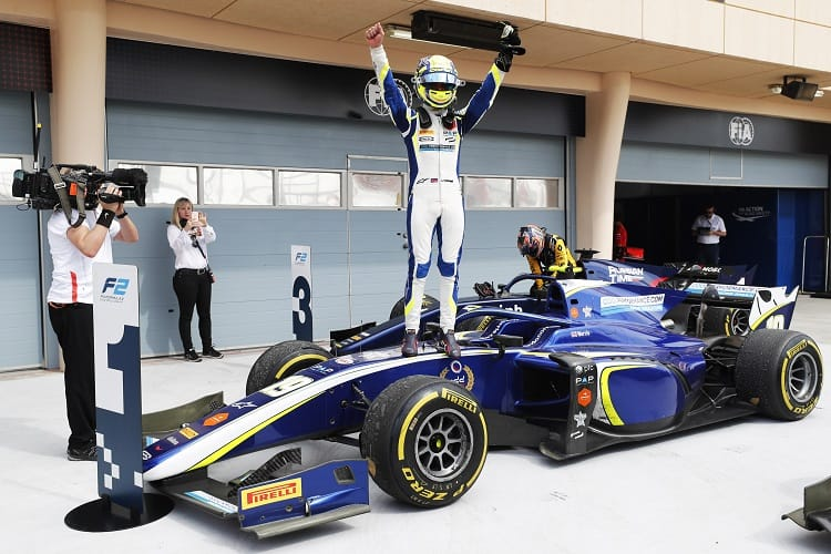 Lando Norris leads the championship after Bahrain