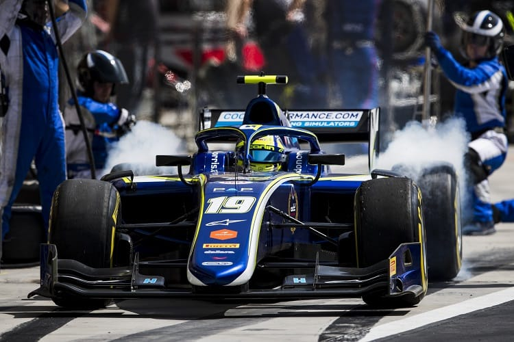 Lando Norris took victory in the Bahrain Feature race