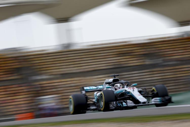 Hamilton, Mercedes bring 'A game' for Shanghai fightback