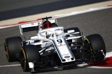 Marcus Ericsson scored two points for Alfa Romeo Sauber in Bahrain