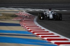 Marcus Ericsson drives at the Bahrain Grand Prix