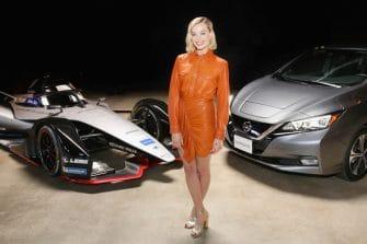 Margot Robbie, Nissan Formula E launch
